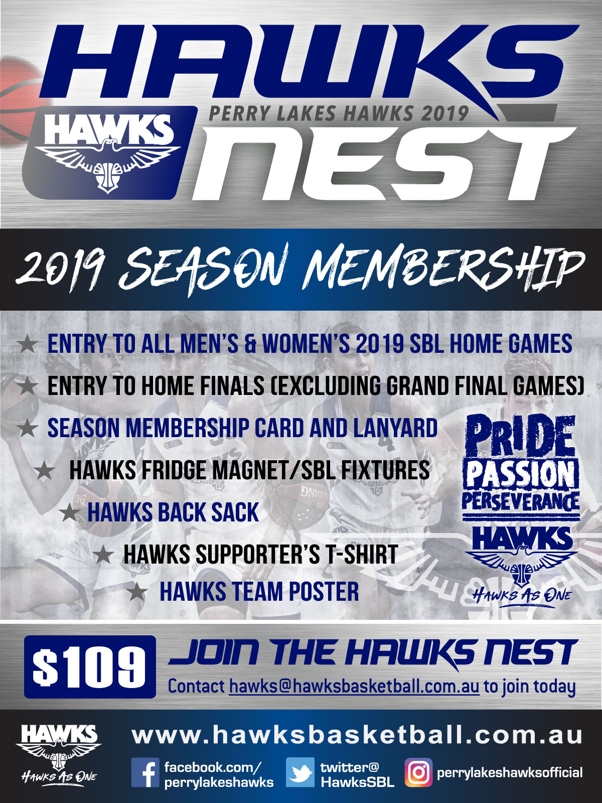 4df0b78f6 Hawks 2019 SBL Memberships Now Open - Perry Lakes Basketball